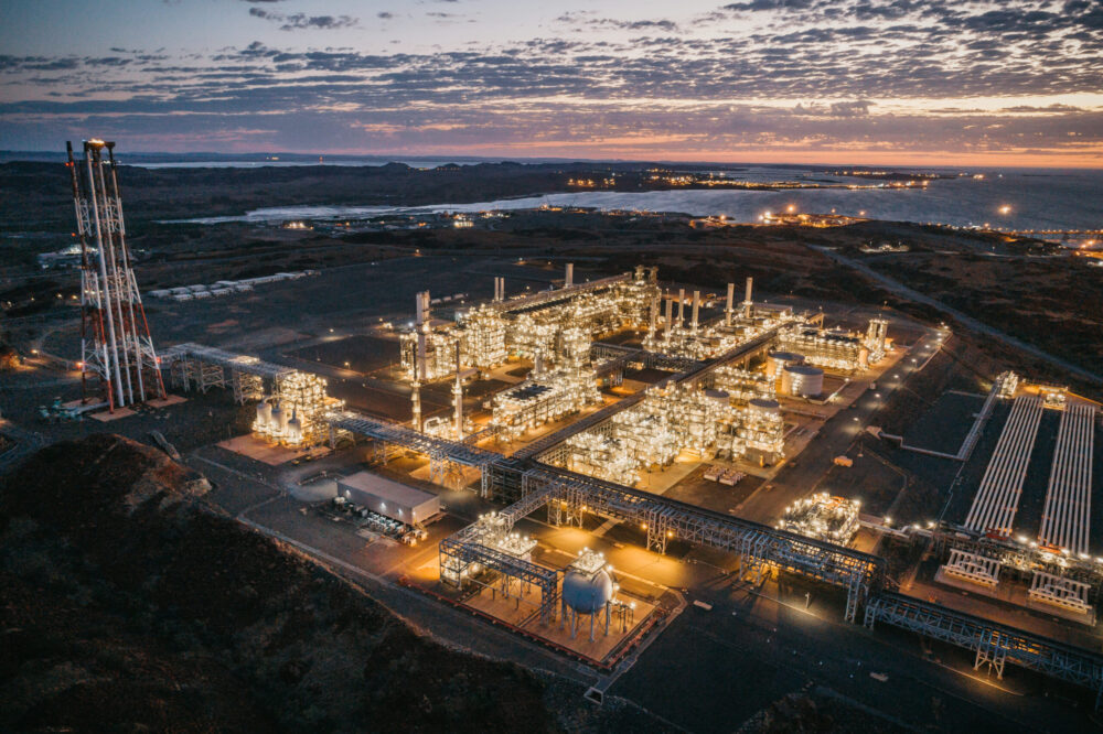 Woodside sets new targets to reduce emissions at Pluto LNG