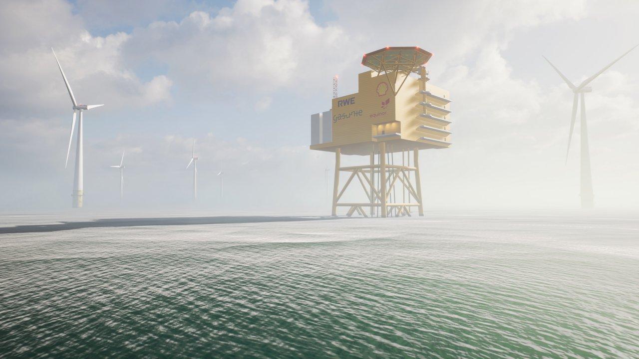 offshore hydrogen park
