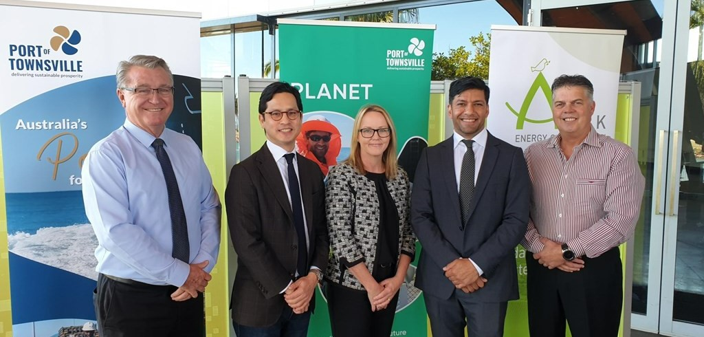 Ark Energy and Port of Townsville sign MoU