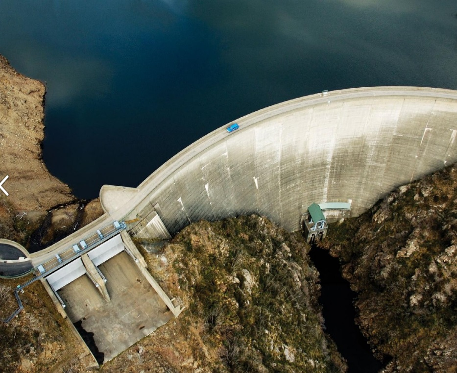 aerial view of Snowy Hydro gas plant